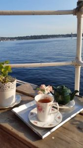 Tea and Lake